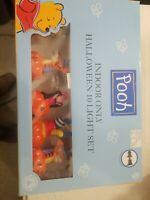 Winnie the Pooh Indoor Lighted Halloween Lights set of 10- New In Box Free Ship