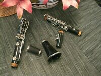 Yamaha YCL-34 Intermediate Model Wood Clarinet, Excellent Condition, MSRP $2205!