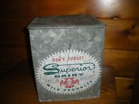 Vintage Milk Box from SUPERIOR DAIRY