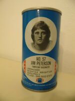 1977 NFL Football Royal Crown Cola RC Can Jim Peterson Tampa Bay Bucccaneers