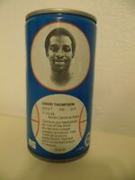 1979 NBA Basketball Royal Crown Cola RC Can David Thompson Denver Nuggets