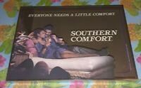 Vintage SOUTHERN COMFORT Whiskey Bar Mirror Rare African American Art By Brytone
