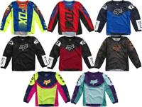 Fox Racing 180 Oktiv Revn Trev Jersey Kid#x27;s 3 5 Years PeeWee MX ATV Youth #x27;21