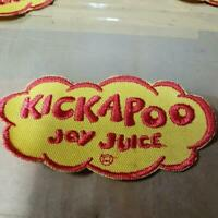 1960#x27;s Singapore Kickapoo Joy Juice soda drink embroidery Badge patch