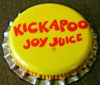 Kickapoo Joy Juice Soda Bottle Cap Soda Nugrape Atlanta GA
