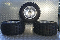 Honda atc 70 Wheel Tire Kit atc70 Wheels and Tires polished BOSS ATV RACING