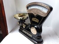 Antique Coca Cola Themed Dayton IBM Candy Scale With Brass Upgrades