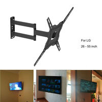 Full Motion TV Wall Mount Single Stud for 32 to 55 inch Universal Plasma LCD LED $24.98