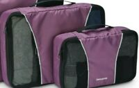SAMSONITE 2 PIECE PACKING CUBE TRAVEL STORAGE BAGS NEW WITH TAGS SEE PHOTO