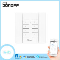Sonoff RM433 Remote Control 8 Buttons RF Remote Key Pairing Smart Home Switches $10.99