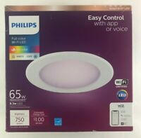 Philips Smart Wi Fi LED Tunable White 65W 750 Lumens Recessed Downlight Y7 $16.99