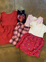 GAP Kids girl sz Small lot of 5 dresses and tops