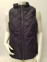 Art3d Women#x27;s Vest Padded Quilted Lightweight in Navy Blue Size Large