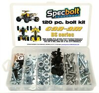 120pc Bolt kit CAN AM DS 450 ATV DS450 MX XC X fenders body engine Bombardier