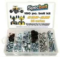 150pc Bolt kit CAN-AM DS 450 ATV DS450 MX XC  X fender engine Bombardier Can Am