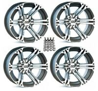 ITP SS212 ATV Wheels/Rims Machined 12