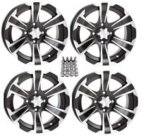 ITP SS312 ATV Wheels/Rims Black 12