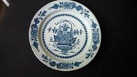 A Delft Blue and White Flowered DELFT Charger