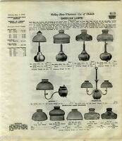 1916 ADVERT 3 PG Air O Lite Airolite Lamps Gas Coleman Arc Lantern Stor