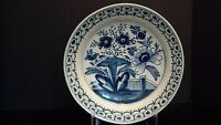 A Blue And White Delft Charger