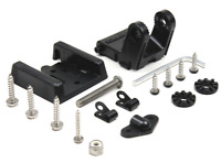 HUMMINBIRD MHX-XNT HIGH SPEED 2-PIECE TRANSDUCER KICK-UP MOUNTING BRACKET NEW