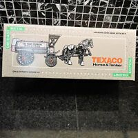 Texaco Horse & Tanker Limited Edition Collectors Series #8 Never Been Opened