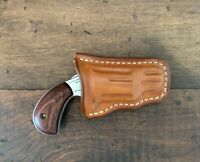 NAA 22 Mag Holster Leather 1 1/8 in Barrel Form Fitted