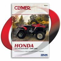 2000-2006 Honda TRX350FE FourTrax Rancher 4x4 ES Repair Manual Clymer M200-2