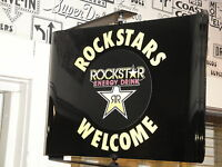 ROCKSTAR ENERGY DRINK  SPINNING WALL MOUNT ADVERTISING SIGN