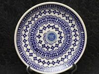 BOLESLAWIEC Polish Pottery FILIGREE LACE Salad Plate