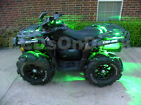 16PC LED CAN-AM OUTLANDER 1000 400 570 650 800R 850 ATV UNDERGLOW NEON LIGHT KIT