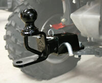 ATV Tek Receiver and Trio Hitch with 2in. Ball TRH1