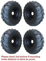 4 x of 145/70-6 Tire with rim Wheel 50cc 70cc 90cc 110cc Taotao Quad ATV Go-Kart