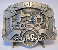 Allis Chalmers D15 Tractor PEWTER Belt Buckle  Limited Ed 049/750  ac  Spec Cast