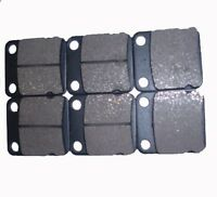 Front Rear ATV Brake Pads For 2007 2008 2009 2010 HYOSUNG TE 450 S