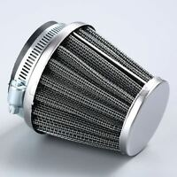 52mm Motorcycle ATV Air Filter Double Layer Steel Vent Cone Air Dirt Cleaner Pod
