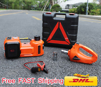 4 functions electric hydraulic lifting jack impact wrench and air compressor 12V