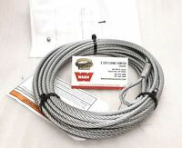 WARN 60076 ATV Winch Cable, Wire Rope, 3/16 x 50 ft. Fitment in listing