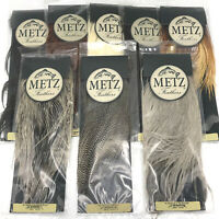 METZ SADDLE GRADE #2 - Dry Fly Tying Rooster Hackle Feathers Hair Extensions NEW