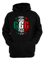 33a423aa4af GGG Black Boxing Gennady Golovkin vs Canelo.Unisex-Mexican Style Hoodie  Black