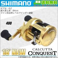 SHIMANO 18 CALCUTTA CONQUEST 400 RIGHT - w/tracking  Japan