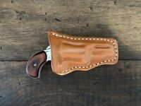Custom Leather Pocket Holster for NAA .22 LR 1 5/8 in Barrel Form Fitted