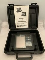Eagle Magna II Fish Finder Depth Sonar Graph - Monitor, Case & Manual Only *READ