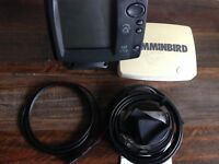 Humminbird 727 Fish finder rare wideside transducer
