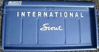 IH International Scout 80/800 Tailgate lettering  *WHITE*
