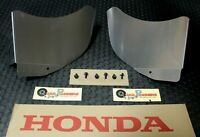 Honda 400EX AIR SHROUDS w/ BOLTS AIR Engine Cooler Scoop Kit NEW FAST SHIP!!!