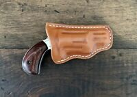 NAA 22 Mag Sidewinder Brown Holster Leather 1 1/2 in Barrel Form Fitted