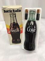 NOS VTG COCA COLA BOTTLE RADIO AM TRANSISTOR AA Duracell Batteries Included