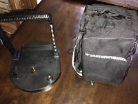 New HUMMINBIRD Fish Finder Ice Bag and Battery Tray - good condition