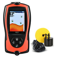 Lucky Protable Fish Finder 100M Depth Sonar Sensor Echo Sounder For Fishing